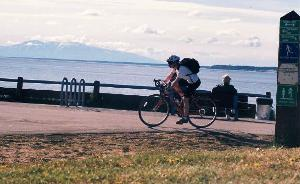 Bicycling in Anchorage, AK.