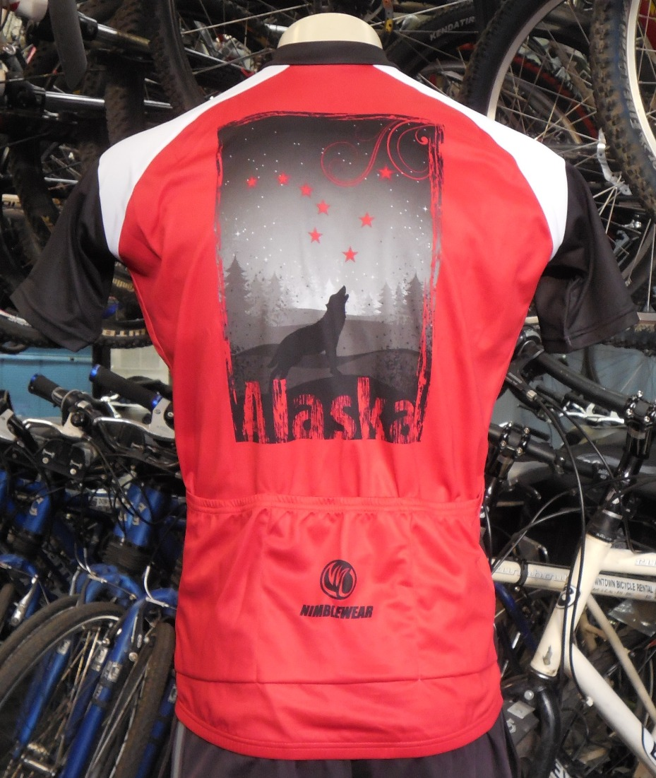 Alaska bike jerseys