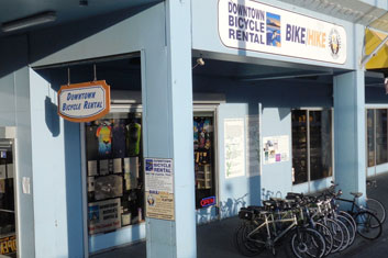 Downtown Bicycle Rental Shop