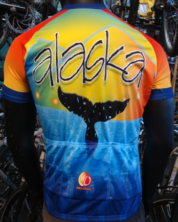 Alaska midnight sun cycle jersey
